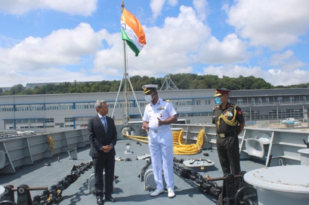 Indian Navy Talwar-class Frigate INS Tabar (F44) Visits Brest, France