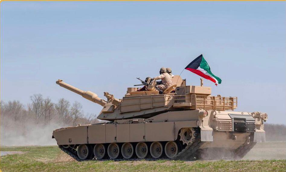 Kuwait Armed Forces Unveils Upgraded M1A2K Abrams Main Battle Tank