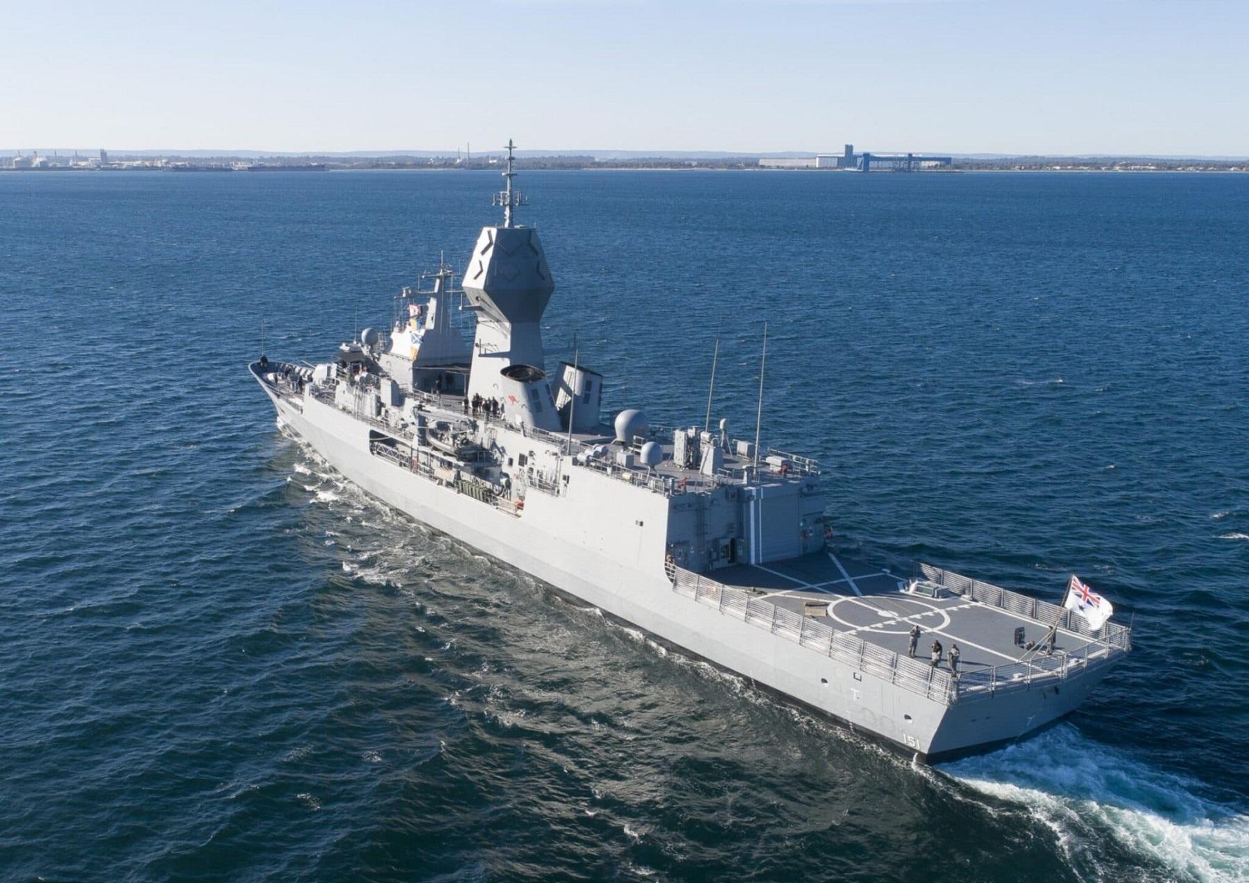 HMAS Arunta (FFH 151) Frigate (Photo by Royal Australian Navy)