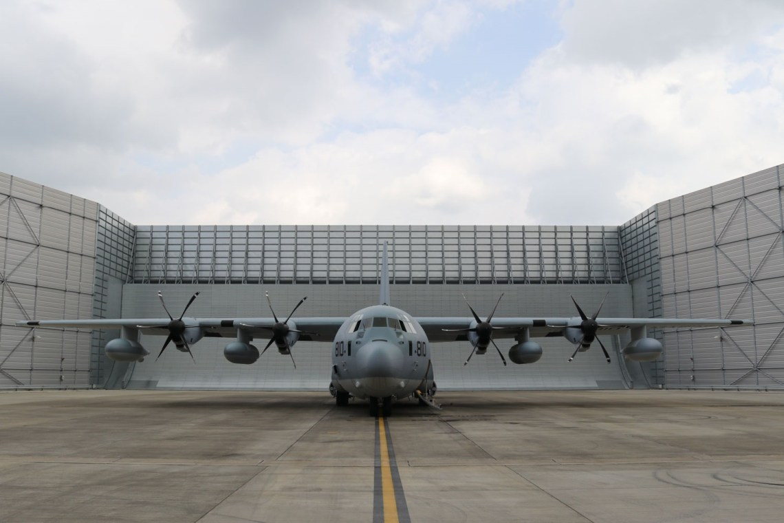 Marshall Aerospace and Defence Group Delivers KC-130J Tanker to US Marine Corps