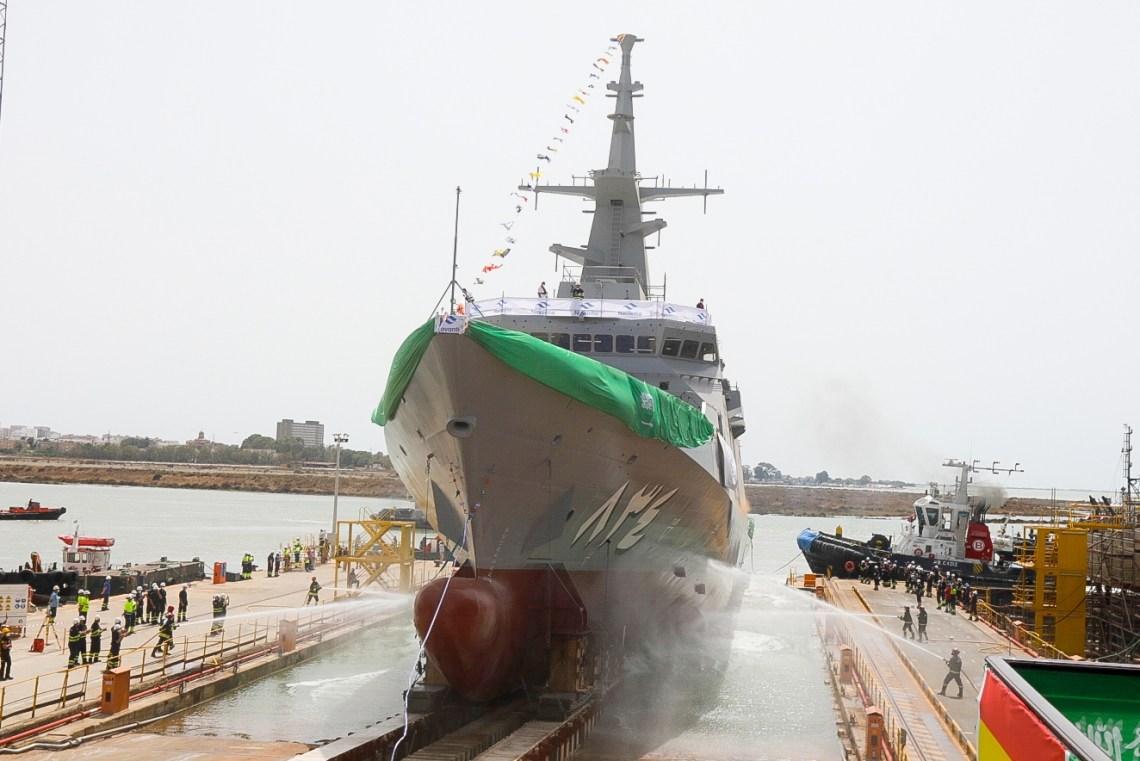 Navantia Launches the Fourth Al Jubail-class Corvette for Royal Saudi Naval Forces