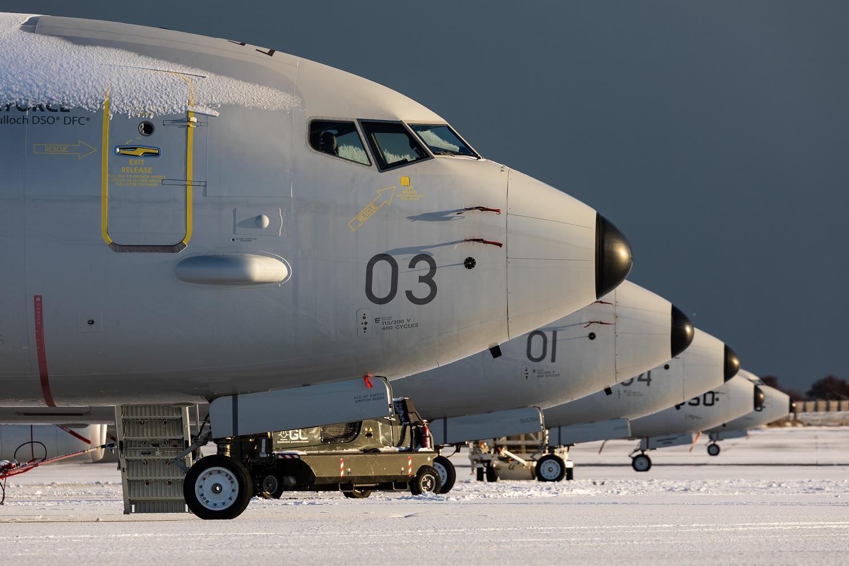 Royal Air Force (RAF)'s Poseidon Maritime Patrol Aircraft fleet