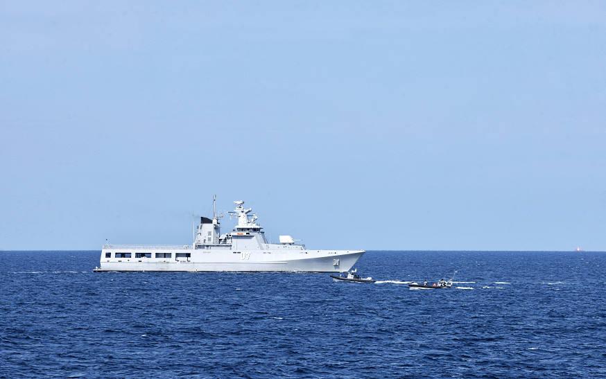 Royal Brunei Navy KDB Darulehsan KDB Darulehsan (07) offshore patrol vessel