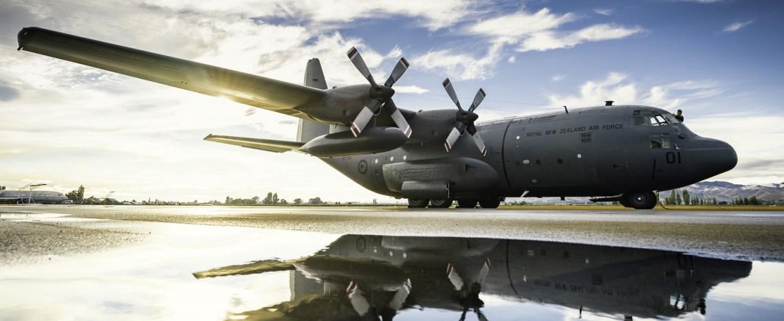 Royal New Zealand Air Force C-130H(NZ) Hercules