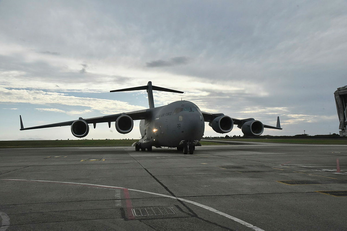 Royal Australian Air Force C-17A Globemaster III Continue to Airlift COVID-19 Aid to Fiji