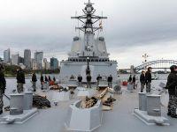 Royal Australian Navy HMAS Brisbane Destroyer Participate in Exercise Talisman Sabre 21