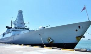 Royal Navy Type 45 Destroyer HMS Defender Makes Goodwill Visit to Brunei Darussalam