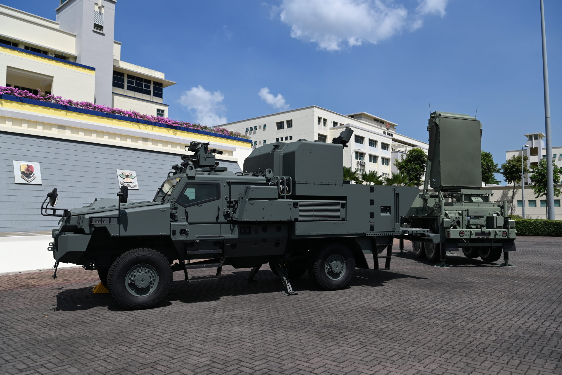 BELREX Protected Combat Service Vehicle with the Advanced Mortar System