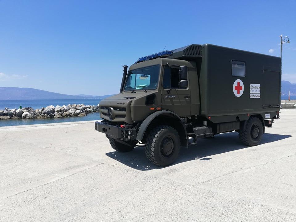 Slovakia's Konstrukta Defence Unveils UNIKAR.01 Military Sanitary Vehicle
