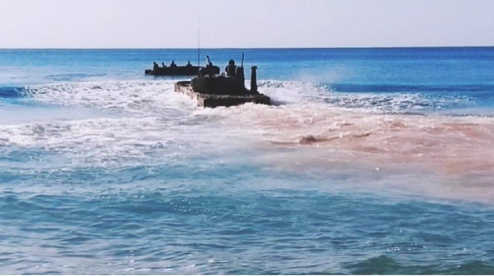 Sprut-SDM1 Amphibious Light Tank to Undergo Firing Trials on the Black Sea