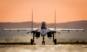 Sukhoi Su-30SME Twin-engine Two-seat Supermaneuverable Fighter Aircraft