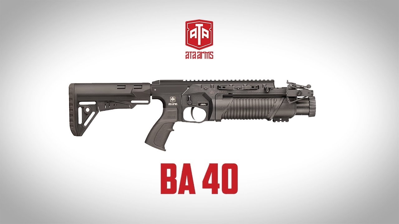 Turkish Armed Forces Continues Arming Its Soldiers with BA40 Grenade Launcher
