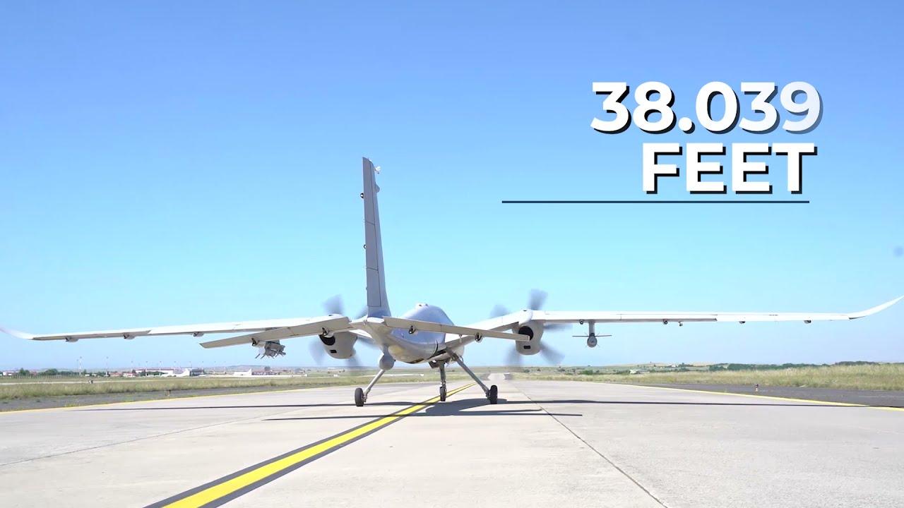 Turkish Bayraktar Akinci Unmanned Combat Aerial Vehicle Sets New National Aviation Record