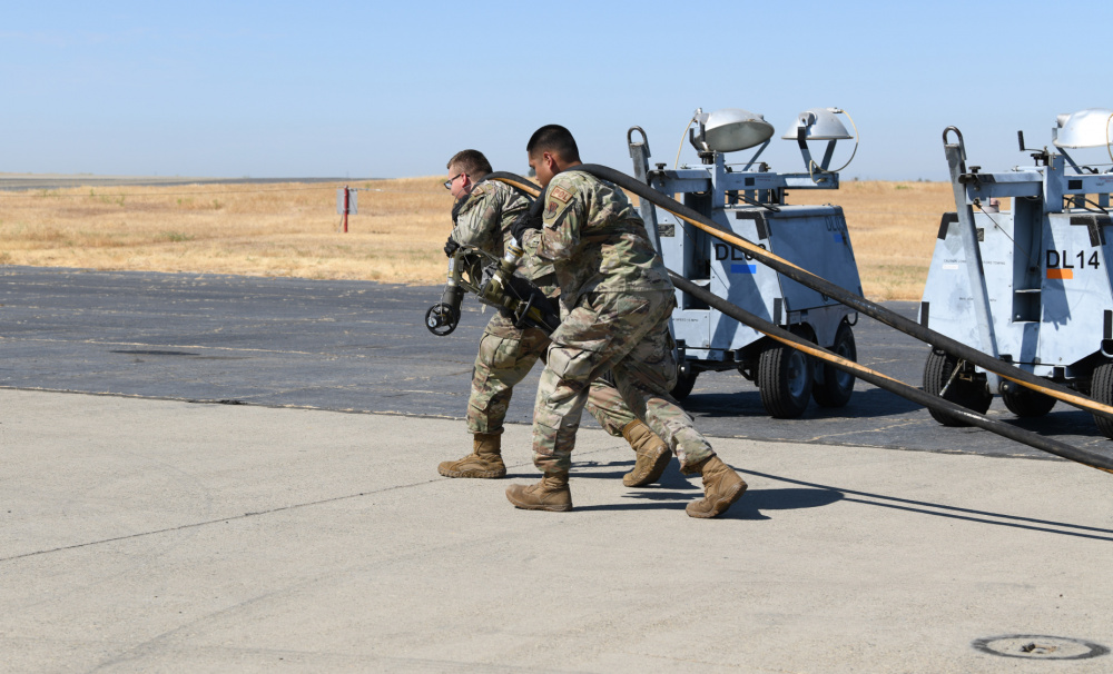 US Air Force 9th Logistics Readiness Squadron Refines Expeditionary Fueling System for U-2 Dragon Lady