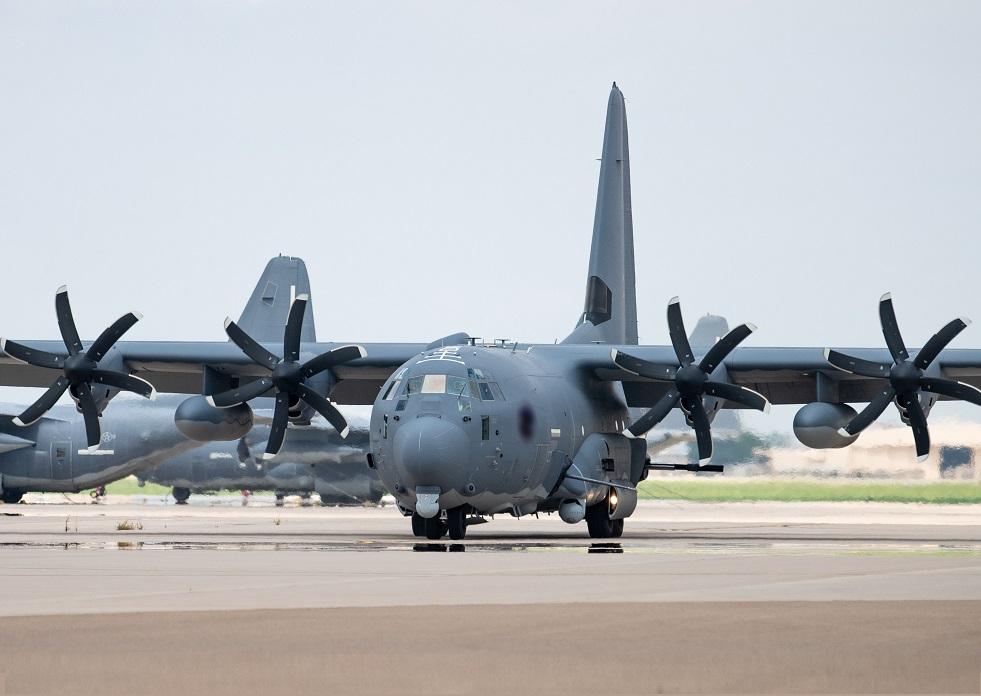 US Air Force Cannon Air Force Base Receives Its First AC-130J Ghostrider Gunship