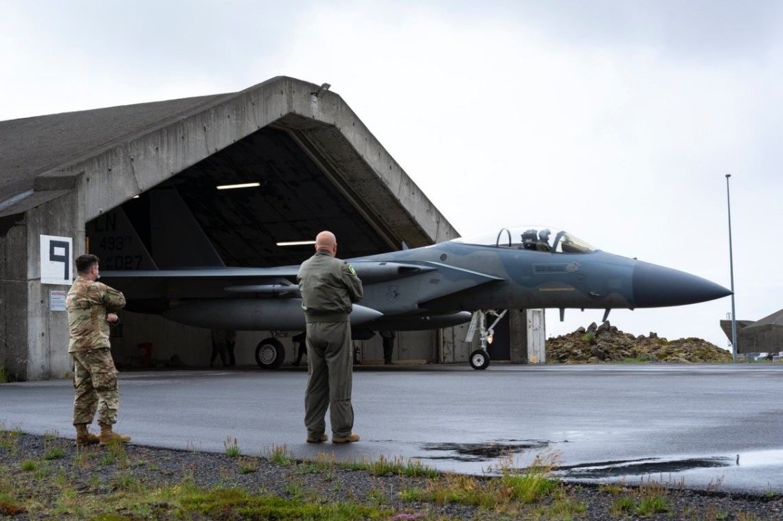 US Air Force F-15s Certified Ready to Safeguard Skies over Iceland