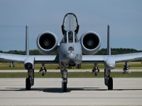 US Air National Guard 107th Fighter Squadron A-10 Thunderbolt II Aircraft