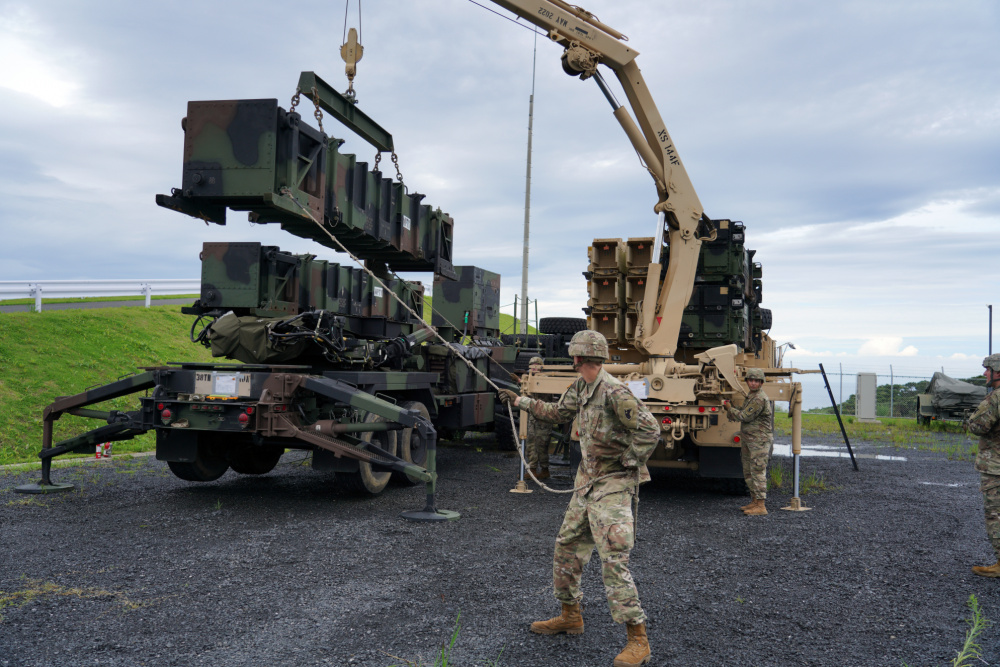 US Army and Japanese Ground Self-Defense Force Conducts Simulated Scenario Missile Defense on Camp Amami