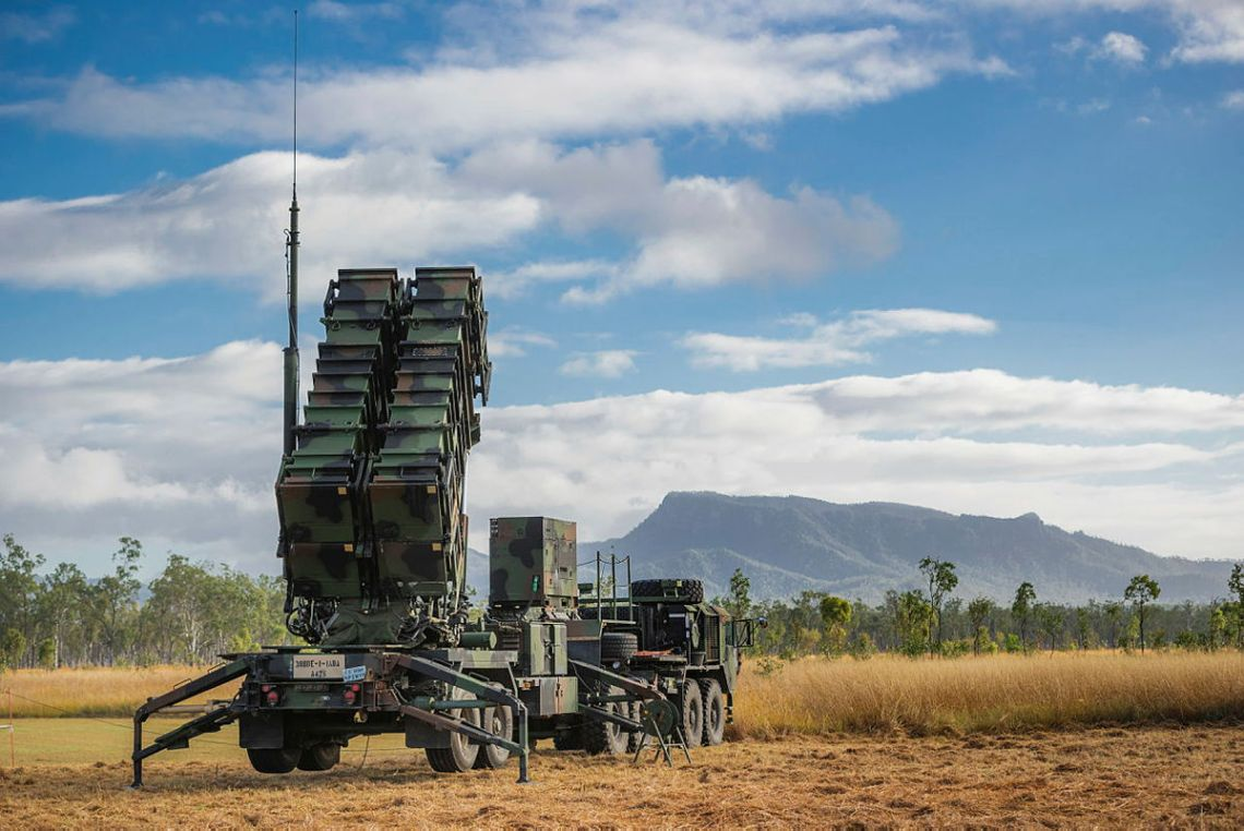 A U.S. Army M901 Launching Station is in position in the Shoalwater Bay Training Area in Queensland for rehearsals of the launch of the MIM-104 Patriot surface-to-air missile system during Exercise Talisman Sabre. Photo: Corporal Madhur Chitnis