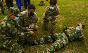 US Army South Develops Medical Evacuation Rehearsals with Colombian Army Combat Medics