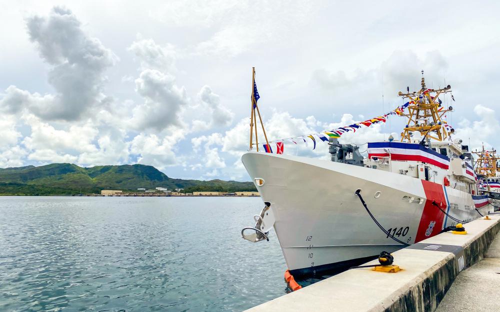 US Coast Guard Commissions 3 Sentinel-class Fast Response Cutters in Guam