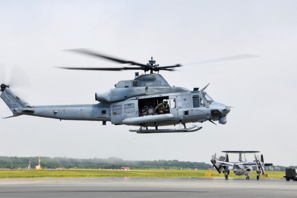 A UH-1Y Venom, assigned to the