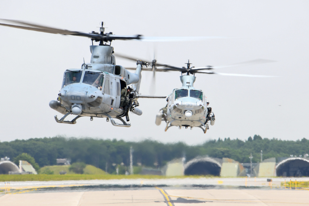 US Marine Light Attack Helicopter Squadron 169 Long-Range Self Deployment