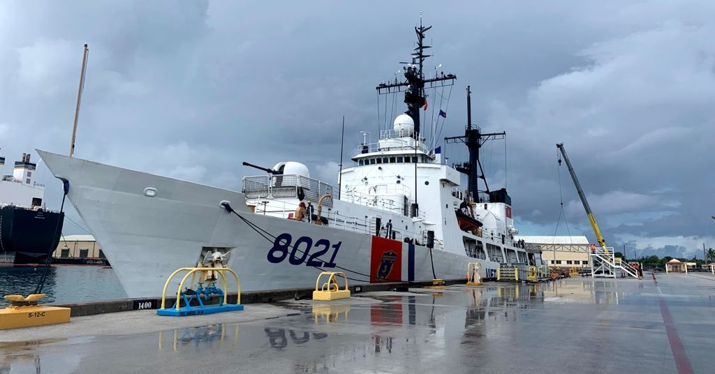 Vietnam Coast Guard High Endurance Cutter CSB 8021