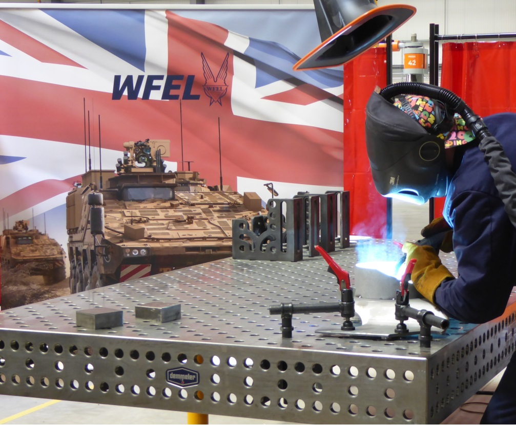 WFEL Commences Production of First Boxer Armoured Military Vehicles for British Army