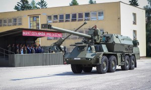 New ZUZANA 2 155mm Self-propelled Gun Howitzers Delivered for Slovak Ground Force