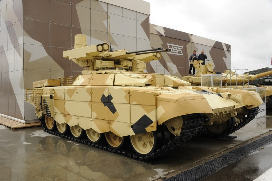 BMPT-72 tank support fighting vehicle