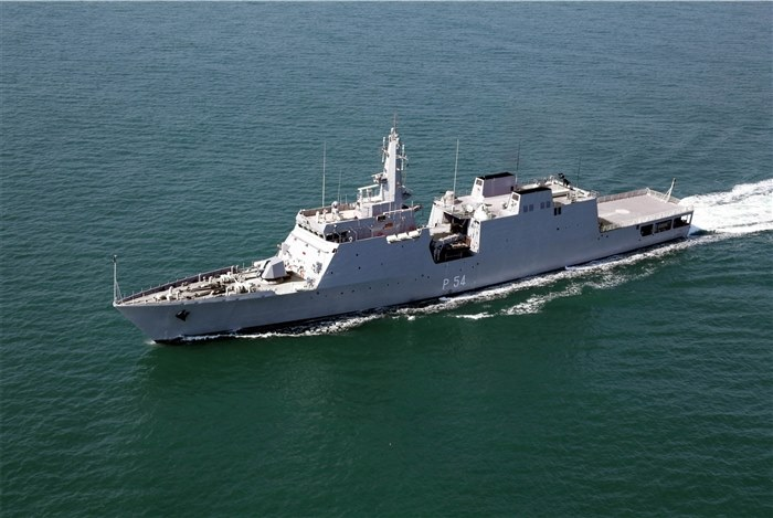 Indian Navy INS Saryu Offshore Patrol Vessel