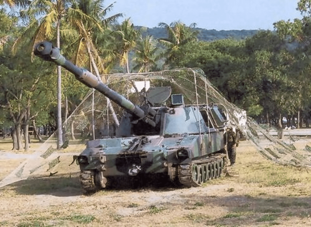 Republic of China (Taiwan) Army M109A2 155mm self-Propelled howitzer system