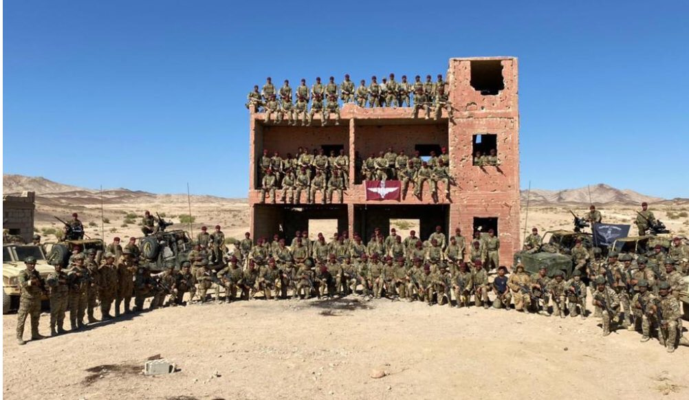 16 Air Assault Brigade (16 Air Asslt Bde) is a formation of the British Army based in Colchester in the county of Essex. It is the Army's rapid response airborne formation and is the only brigade in the British Army focused on delivering air assault operations.