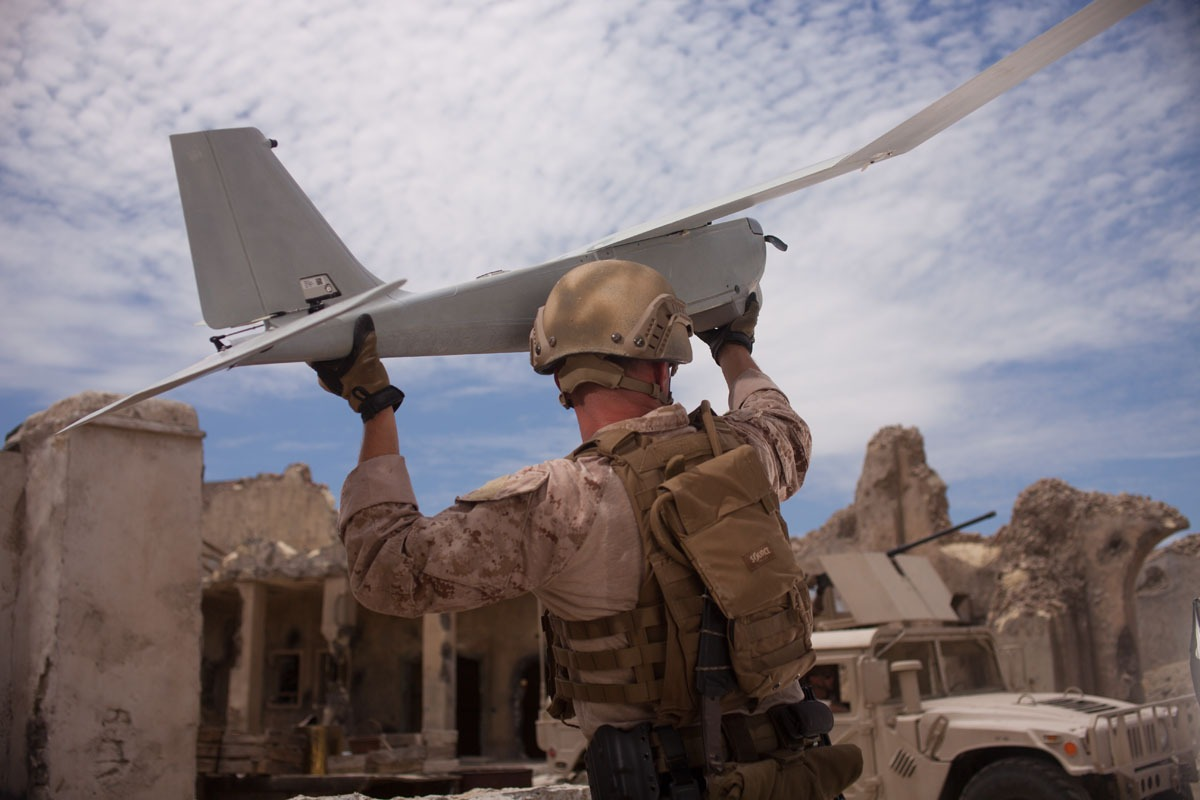 AeroVironment's standardized modular payload interface kit enables customer-driven payloads to be quickly and easily integrated into RQ-20B Puma