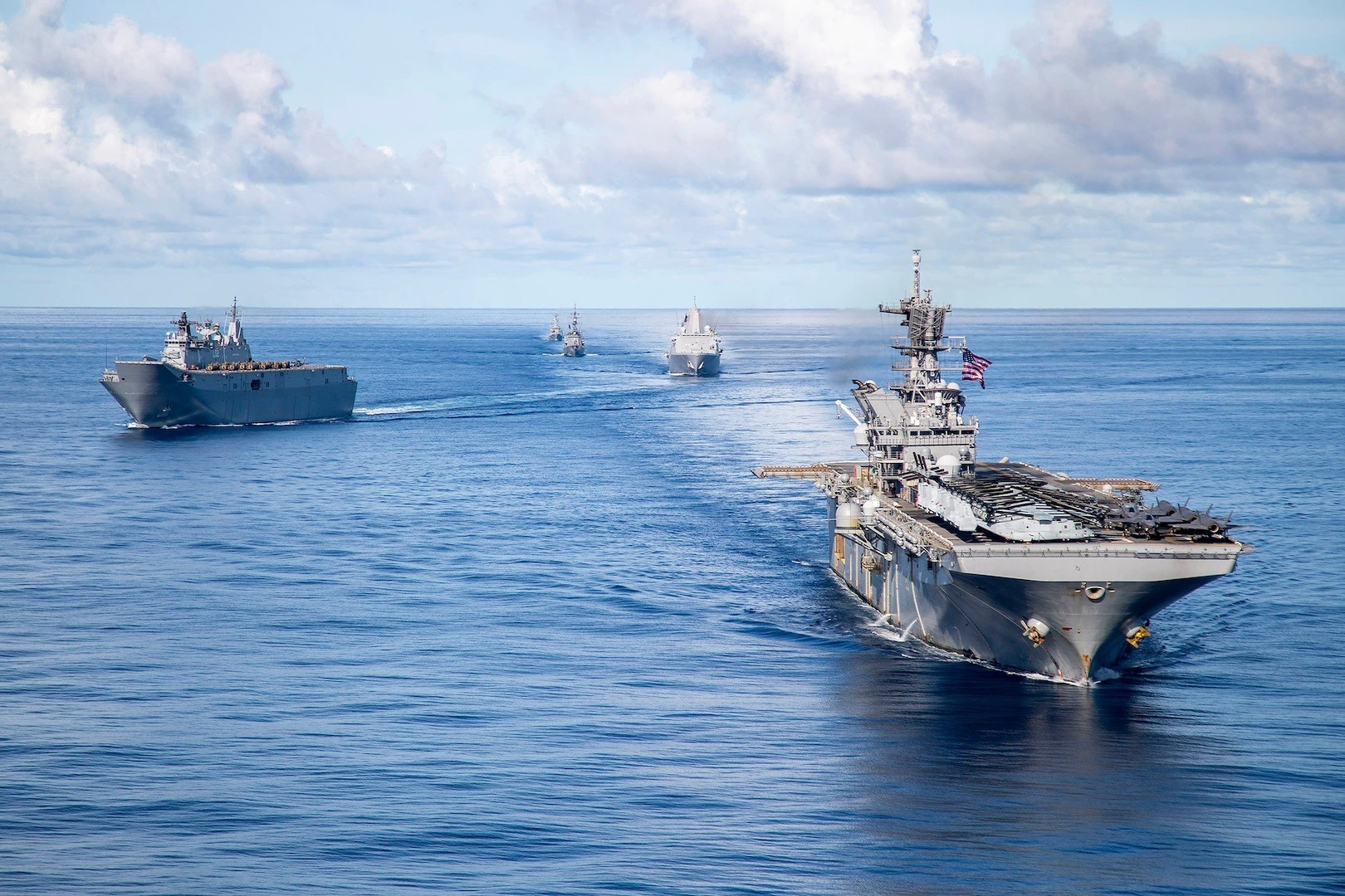 America Expeditionary Strike Group Participates in Combined and Joint Battle Problem