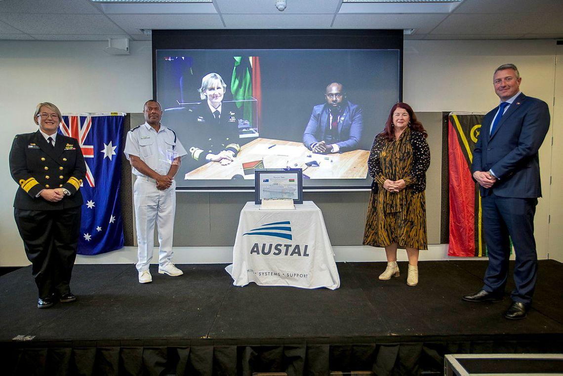 Austal Australia Delivers 12th Guardian-class Patrol Boat RVS Takuare to Republic of Vanuatu
