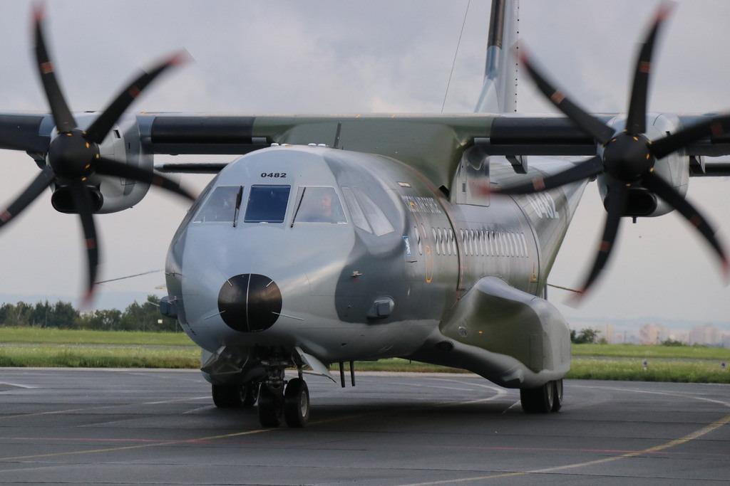 Czech Air Force Receives Second Modernized C295MW Medium Airlifter