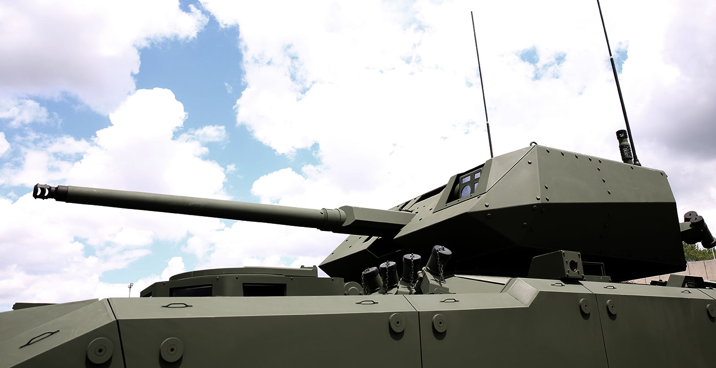 TEBER 35 Remote Controlled Turret (RCT) System
