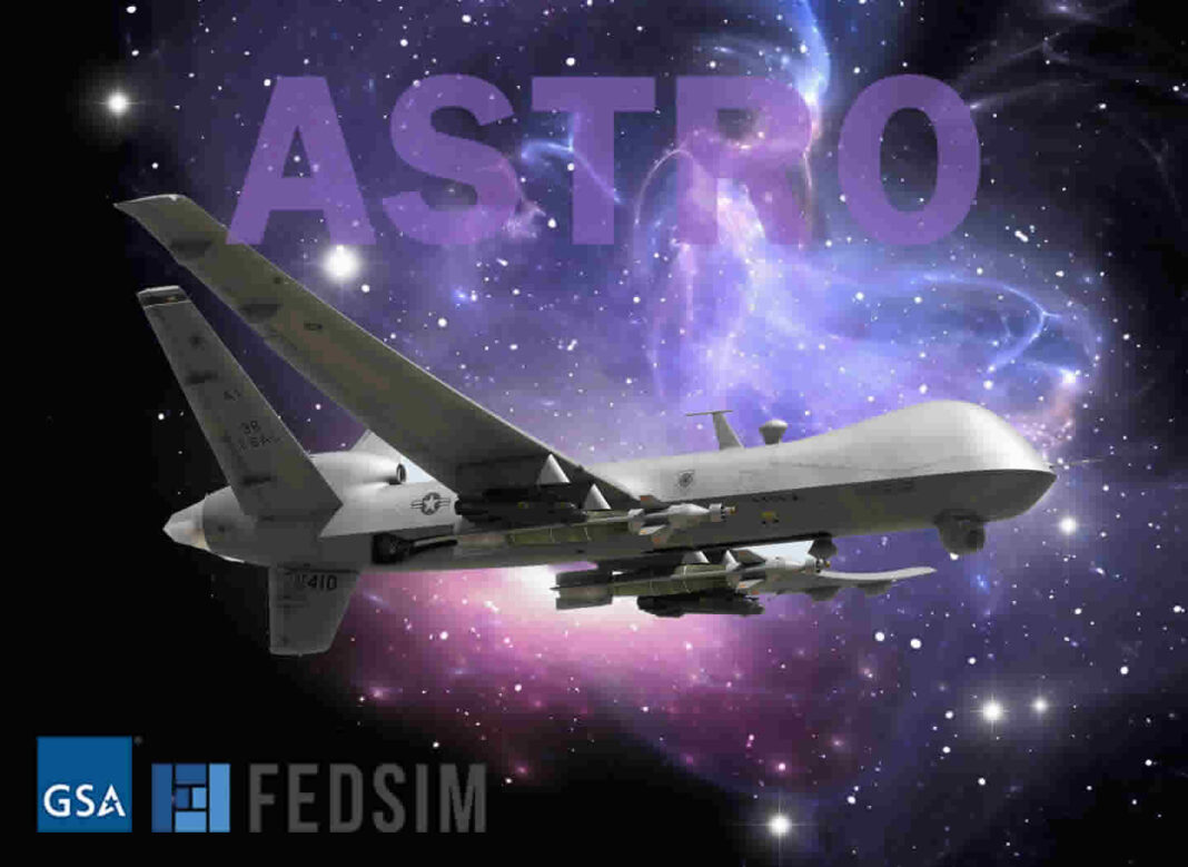 GA-ASI Secures Prime Positions on New FEDSIM ASTRO Contract Vehicle