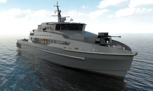 Incat Crowther 42m Monohull Patrol Vessel for Operation in Thailand