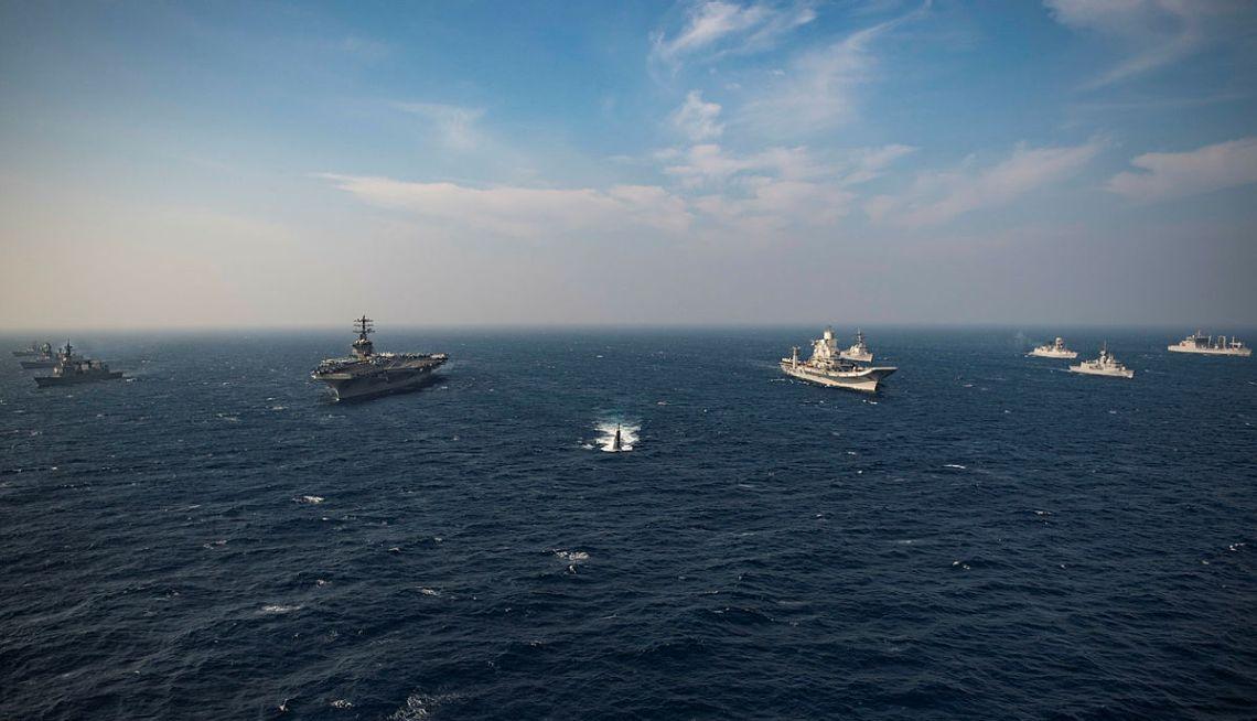 Indo-Pacific Maritime Exercise MALABAR 2020