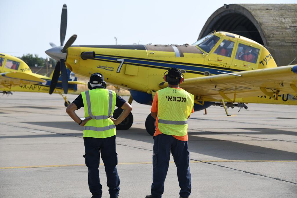 Israeli Firefighting Squadron to Send Two Firefighting Aircraft to Support Hellenic Air Force