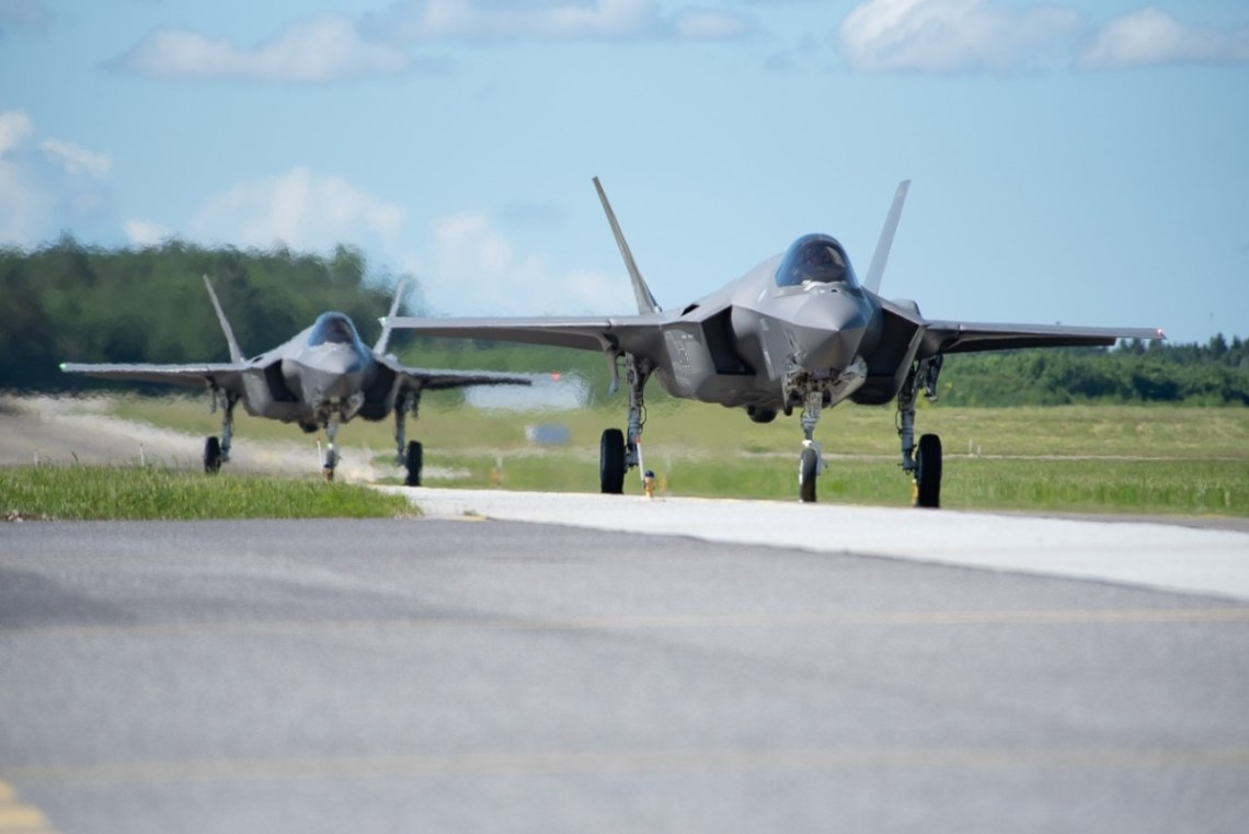 Italian Air Force F-35 fighter jets augment NATO's Baltic Air Policing mission. Integration of modern air technology proves how the Alliance and the Allies adapt their capabilities to safeguard the skies,