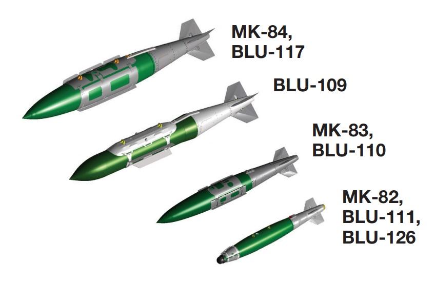 Boeing Joint Direct Attack Munition (JDAM)