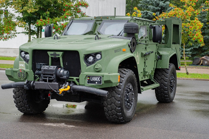 Lithuanian Armed Forces Unveils Its First Batch of Joint Light Tactical Vehicles (JLTVs)