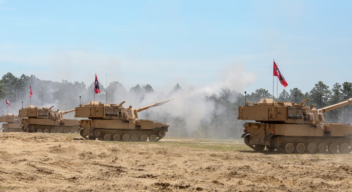 M109A7 Self-propelled Howitzers
