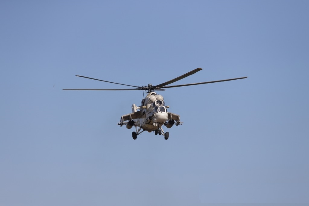 National Guard of Cyprus Mil Mi-35 Combat-Transport Helicopter