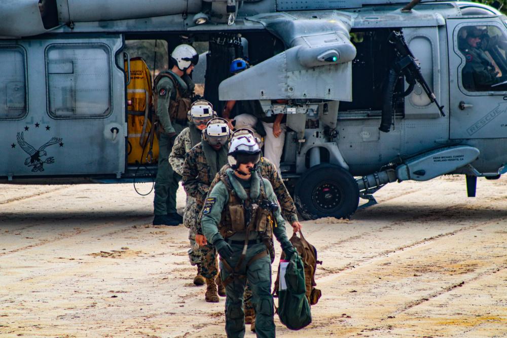 Naval Mobile Construction Battalion 11 Constructs Prototype Landing Pad on US Naval Base Guam
