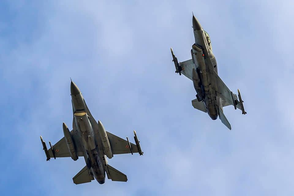Polish Air Force Deploy F-16 Fighting Falcon to Ensure NATO Air Policing Over Iceland